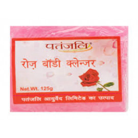 BUY PATANJALI ROSE BODY CLEANSER, 125G