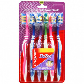 COLGATE  ZIG-ZAG DEEP CLEANING TOOTHBRUSH ( 6N )
